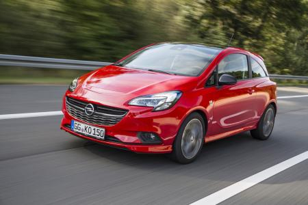 Stylisher OPC-Look: Der neue Opel Corsa S macht mit Spoilern, Seitenschwellern und Heckschürzenlippe in Wagenfarbe Lust auf sportlichen Fahrspaß