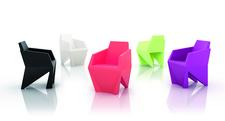The small armchair Gemma by B-LINE awarded with the Good Design Award