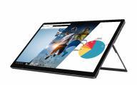 "auvisio Mobiler Full-HD-IPS-Touchscreen mit 39,6 cm / 15,6"", USB C, HDMI, Akku"