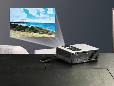 zwei scenelights hdmi dlp led beamer mit 200 lumen dl 345 hdmi und dl 455m hdmi mit. Black Bedroom Furniture Sets. Home Design Ideas