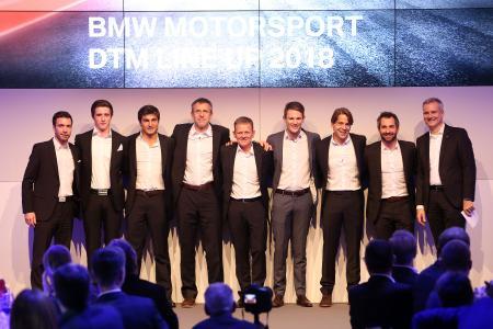 BMW Motorsport Season Review 2017, Line-up 2018 DTM