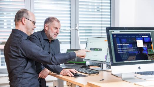 Broadcast Solutions Produkte und Service GmbH Team