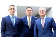 Die Vorstände der uniVersa (v.l.): Frank Sievert, Werner Gremmelmaier und Vorstandsvorsitzender Michael Baulig / Foto: uniVersa