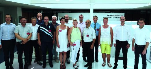 Datenschutzbeauftragte der Landkreise in Baden-Württemberg zu Besuch bei Krug & Priester