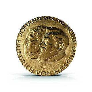 Heine-Hessing-Medaille. Foto: BIV-OT/Gremm