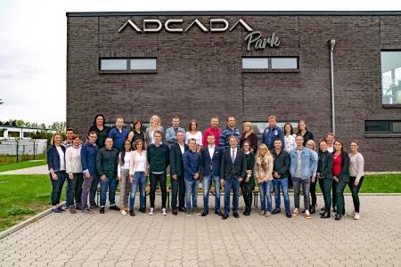 Das (fast) vollständige ADCADA Team