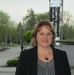 Silvia Leuze. Absolventin des Fernstudiengangs MBA Marketing-Management