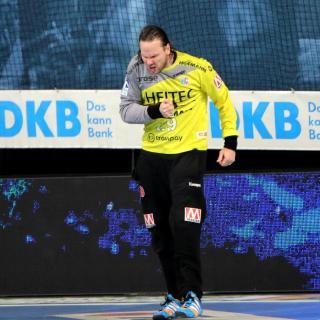 Nikolas Katsigiannis: vielleicht auch gegen Hannover der Spielverderber? (Jocki_Foto, Erlangen)