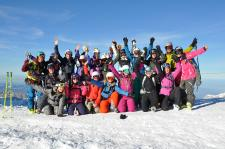 "Girls Freeride Camp mit ""Shades of Winter""-Stars"
