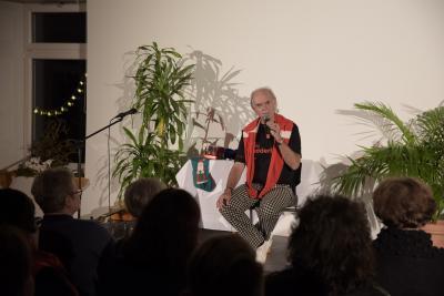 Klaus Karl-Kraus begeistert in Bad Berneck, Foto: Florian Fraaß