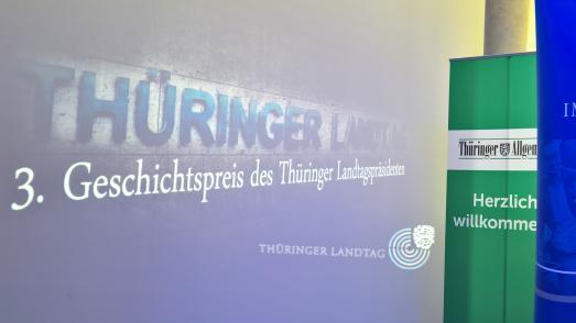 3. Geschichtswettbewerb des Thüringer Landtagspräsidenten