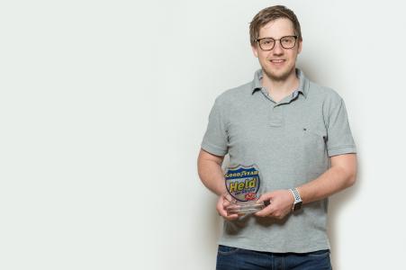 Held der Straße im März: Daniel Rösch (quer)