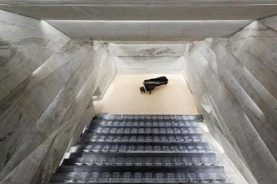 Konzerthaus Blaibach; Peter Haimerl . Architektur / Foto: © Edward Beierle