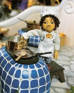 Alfons Schuhbeck übernimmt Ehrenpatenschaft für Marionettenkoch der Puppenkiste