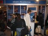 ebam Akademie auf der  Messe