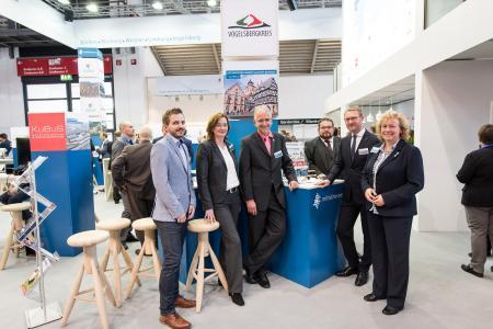 Vogelsberger Delegation auf der Expo Real in München, Foto: Tilman Lochmüller