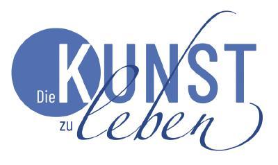 """Das neue Logo des Magazins """"Die Kunst zu leben"""""""