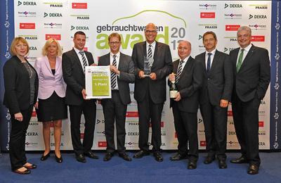 auto k pper gewinnt den gebrauchtwagen award 2013 vogel business media gmbh co kg. Black Bedroom Furniture Sets. Home Design Ideas