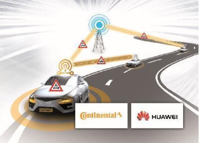 Bei den ersten gemeinsamen C-V2X Feldversuchen von Continental und Huawei in Shanghai wurde bei der direkten Kommunikation zwischen Fahrzeugen eine durchschnittliche Latenzzeit von 11 ms erzielt
