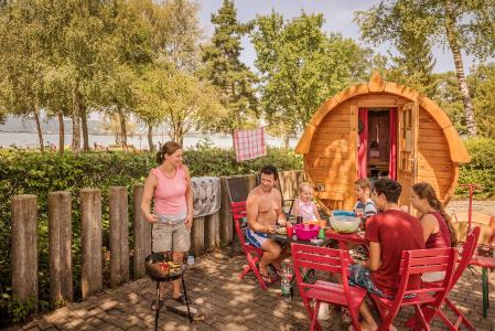 Schlaffaesser Campingplatz Klausenhorn / Bildnachweis: MTK Dagmar Schwelle