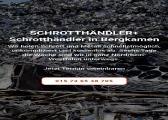 Schrotthändler Bergkamen Wir entsorgen für sie denn Altmetallen