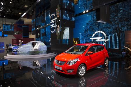 Weltpremiere in Genf: Der komplett neu entwickelte KARL ist ein vollwertiger Opel mit Platz für bis zu fünf Passagiere und das zum Startpreis von nur 9.500 Euro © GM Company