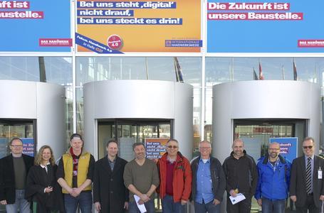 Handwerksbetriebe aus der Region informierten sich auf der Internationalen Handwerksmesse in München über Trends im Handwerk / Handwerkskammer Reutlingen