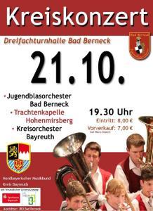 Kreiskonzert des Nordbayerischen Musikbundes