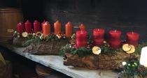 Gestecke zum Advent