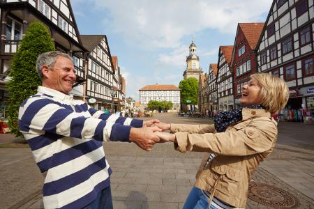 Historisches Rinteln_Ausflugsspaß am Marktplatz