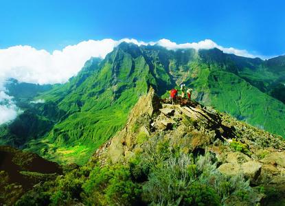 Wanderer auf La Réunion