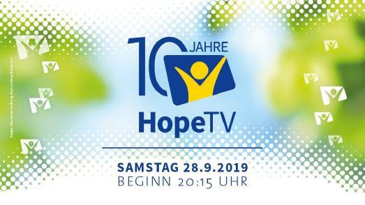 10 Jahre HopeTV | Foto: HopeTV