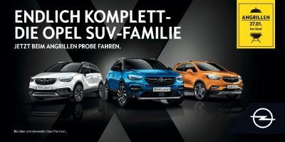 Angrillen bei Opel am 27. Januar 2018