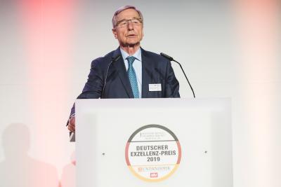 Wolfgang Clement, Schirmherr und Jurymitglied