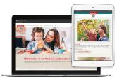 Relaunch Rotbäckchen-Homepage