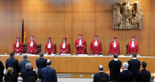 Der Zweite Senat des Bundesverfassungsgericht verkündet das Urteil zum Sterbehilfe-Verbot am 26. Februar 2020