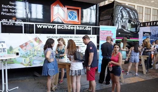 Landesinnung Berlin wirbt bei der Jugendmesse YOU um Nachwuchs