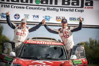 2017 Hungarian Baja, Jakub Przygonski (POL), Tom Colsoul (BEL), MINI John Cooper Works Rally, #2 - Orlen Team - 13.08.2017