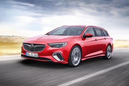 Extra scharf, extra präzise und extra stark: Der neue Sportkombi Opel Insignia GSi Sports Tourer bietet alles, was sich Sportfahrer wünschen