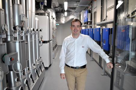 Frank Röder, Leiter Schulungswesen und technische Verkaufsunterstützung bei Stiebel Eltron