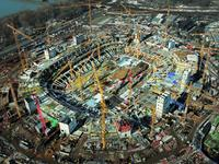 Successful at the European Football Championship 2012 with formwork and scaffolding