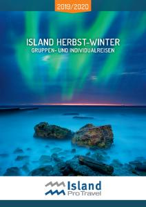 Island ProTravel Winterkatalog 2019/20