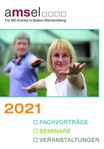 Coverbild der Broschüre / AMSEL Jahresprogramm 2021