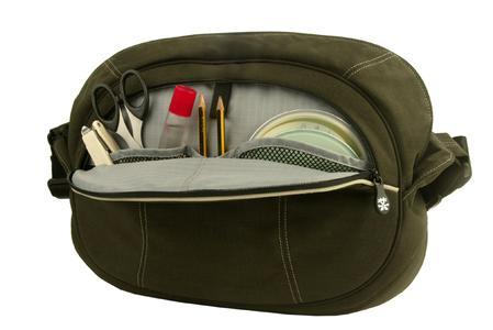 Reißverschlusstasche mit eingebautem Organiser