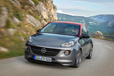 Sportlicher Kleiner von höchster Qualität: Der Opel ADAM (im Bild der ADAM S) ist beim TÜV-Report 2018 das verlässlichste Modell im Kleinstwagen-Segment