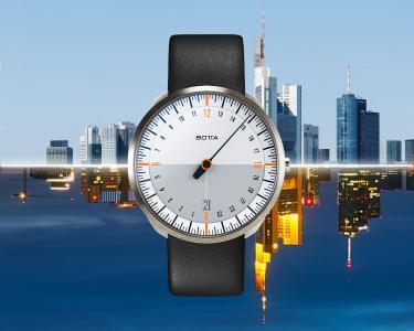 Naturbezogen auf Tag-Nacht-Gleichheit ausgerichtet - die 24-Stunden-Uhren UNO 24 und TRES 24 von BOTTA