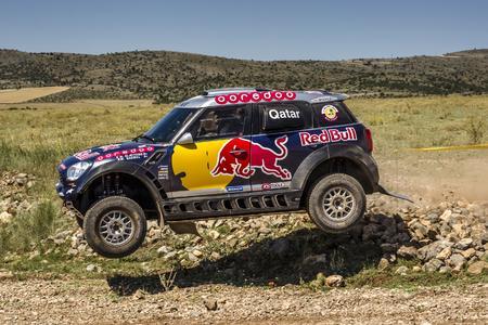 2015 Baja Aragon, Nasser Al-Attiyah (QAT), Mathieu Baumel (FRA) - MINI ALL4 Racing #201 - Qatar Rally Team - 23.07.2015
