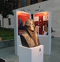 Die  Schadow-Büste Martin Luthers in Originalgröße aus dem 3D-Drucker