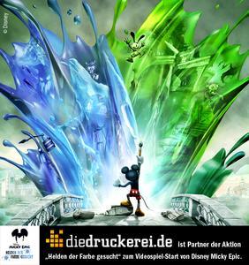 diedruckerei.de ist Partner der Aktion / Foto: © Disney