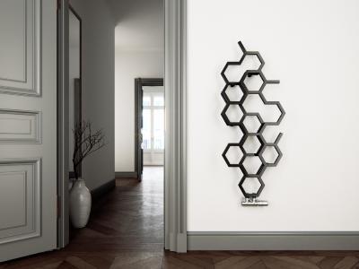 Attraktiver Wärmespender: Design-Badheizkörper von anapont